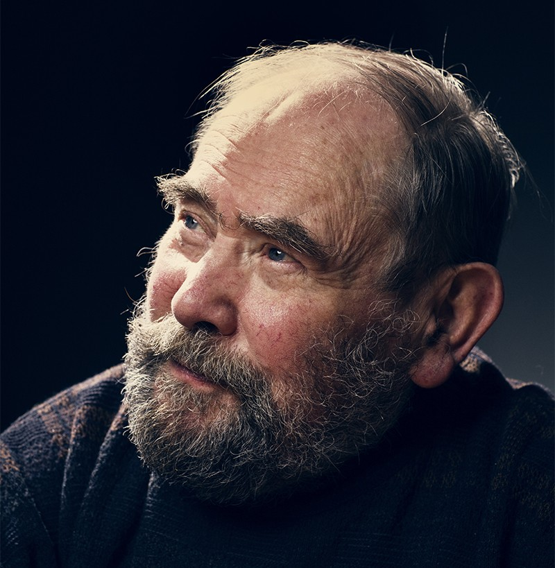 South African biologist Sydney Brenner in 2002.