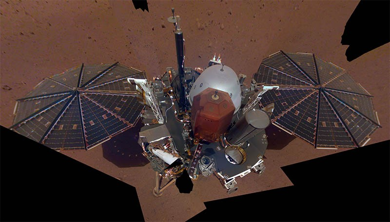 First 'marsquake' detected on red planet