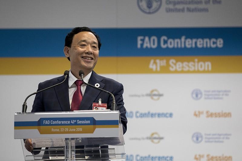 Photograph of FAO Director-General, Qu Dongyu.