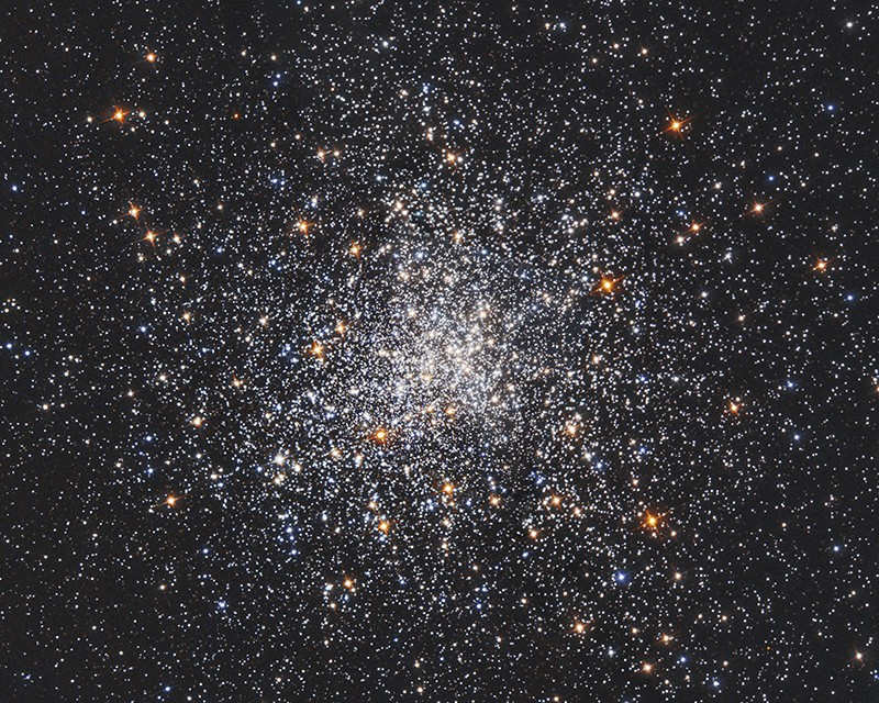 Messier 79 globular star cluster, Hubble image