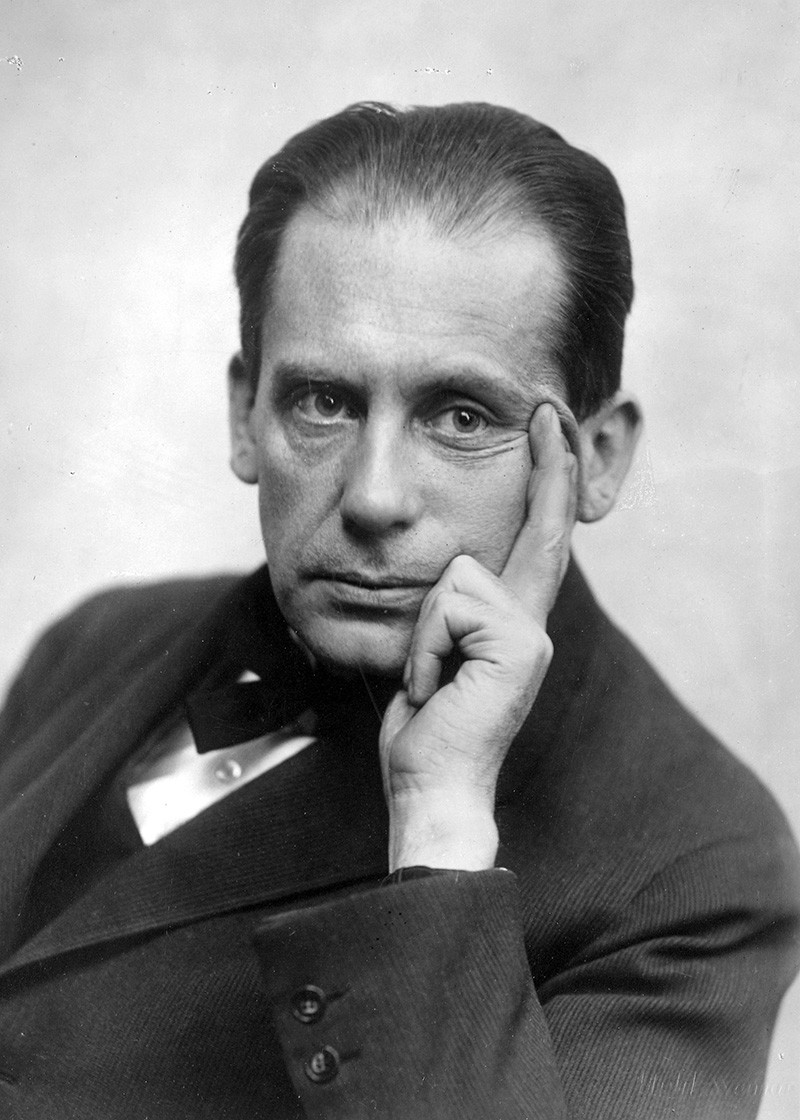 Portrait of Walter Gropius, ca. 1922/23
