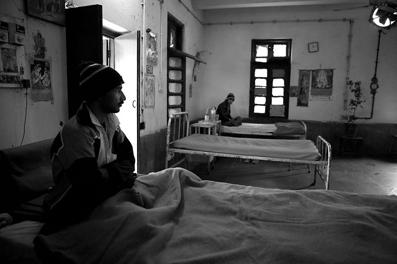 The MDR-TB ward at a hospital in Delhi, India