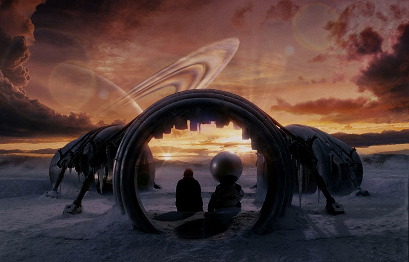 """Una scena di """"The Hitchhiker's Guide to the Galaxy"""" 2005"""