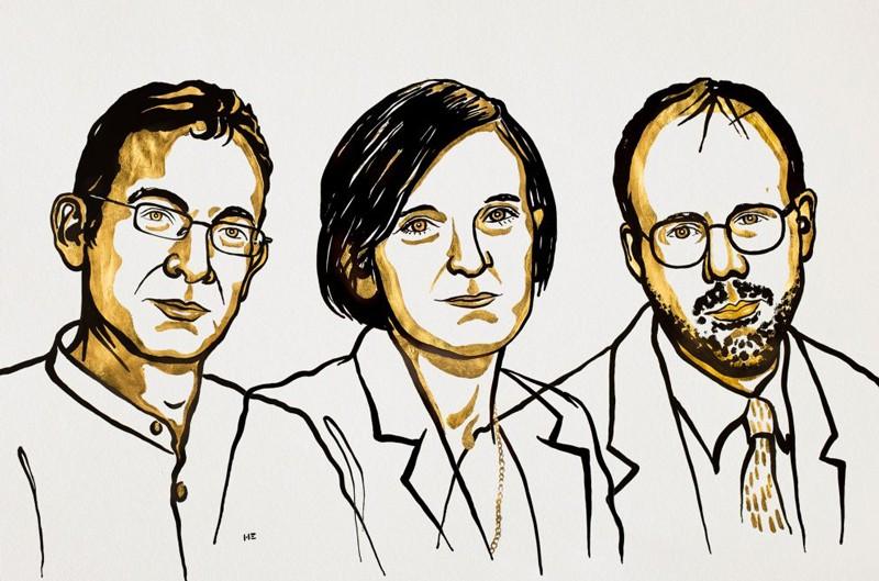 Abhijit Banerjee, Esther Duflo and Michael Kremer, Nobel Prize in Economic Sciences winners