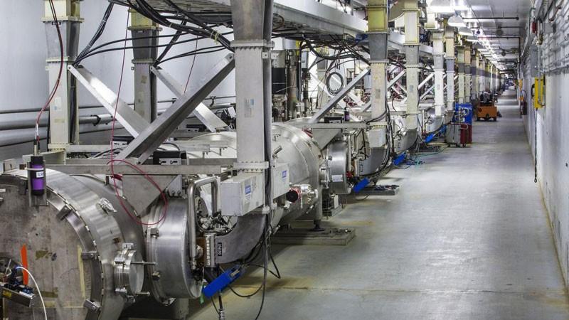 Jefferson Lab's upgraded CEBAF accelerator.