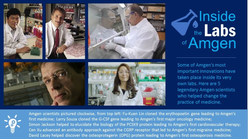 Amgen's scientists